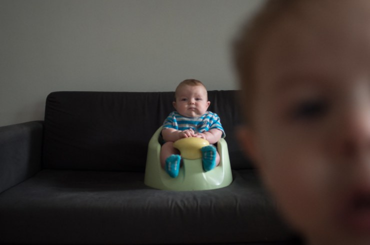 Ezra on Couch