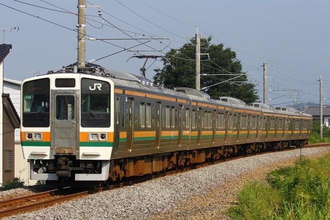 両毛線高崎行 211系A34