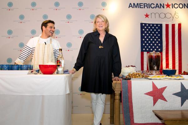 Martha Stewart at Macy's San Francisco