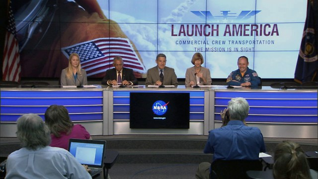 NASA SpaceX Boeing Manned Space Flight