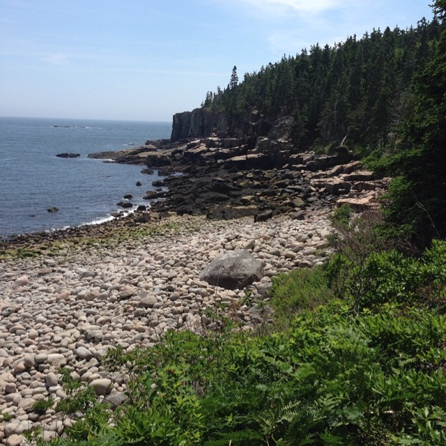 Hiking in #acadianationalpark #maine