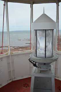 Inside the Point Prim lighthouse