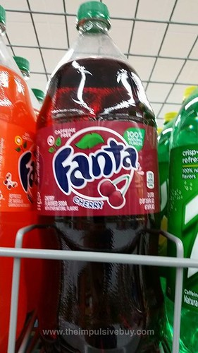 Cherry Fanta Bottle