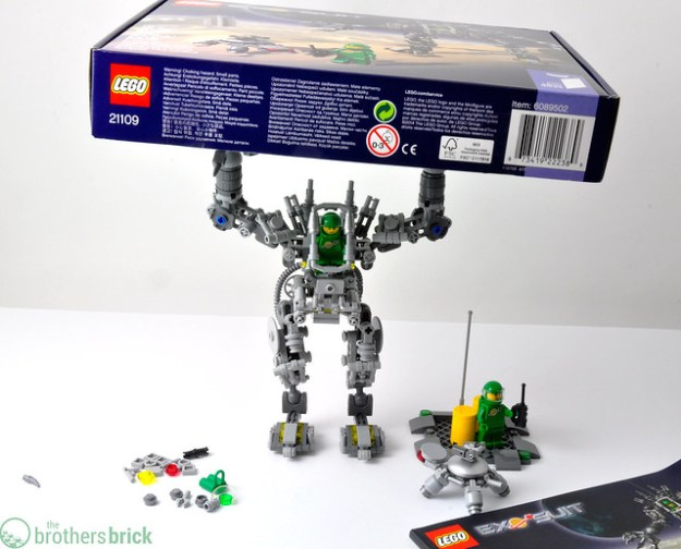 Lego Ideas Exo Suit Out Today Review Giveaway The Brothers