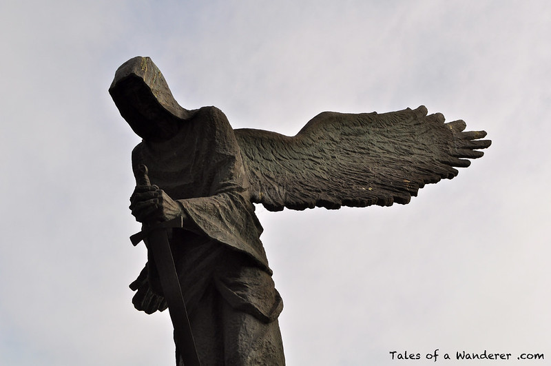 WROCŁAW - Park Juliusza Słowackiego - Pomnik Ofiar Zbrodni Katyńskiej