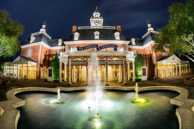 Epcot - It's An American Adventure