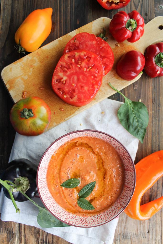 Recette gaspacho de melon