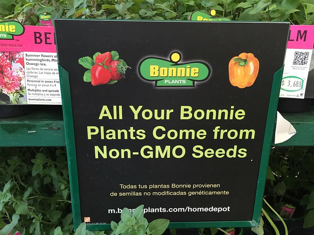 All Your Bonnie Plants Come from Non-GMO Seeds, and All Your Base are Belong to Us