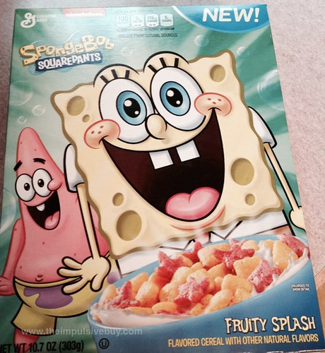 General Mills Spongebob Squarepants Fruity Splash Cereal