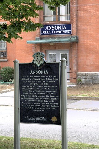 Ansonia Historical Marker