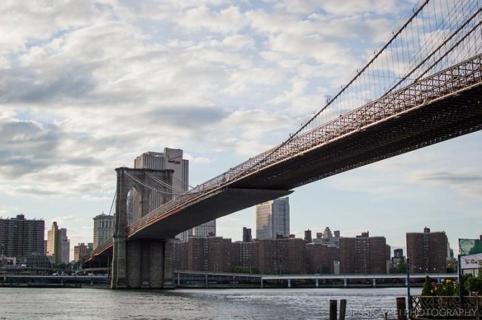 East River Brooklyn Bridge New York