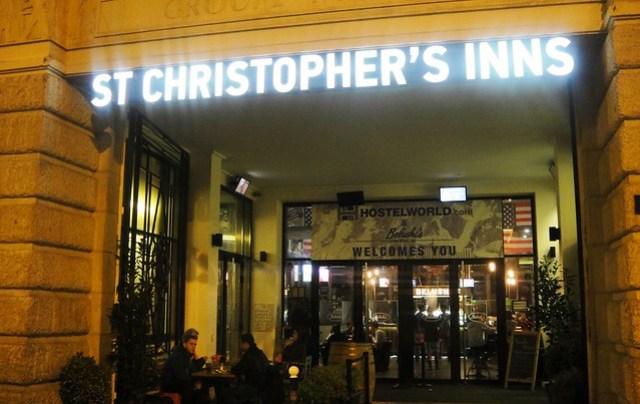 st christophers gare nord paris