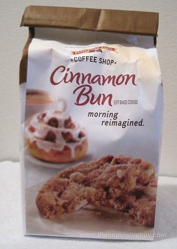 Pepperidge Farm Coffee Shop Cinnamon Bun Cookies Breakfast- The Sequel
