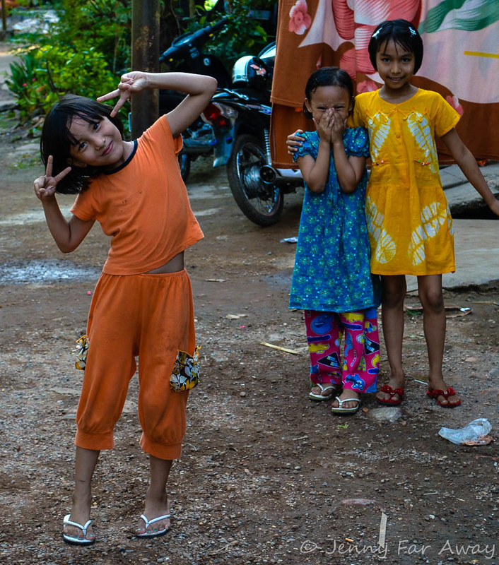 Children in Mawlamyine, Burma