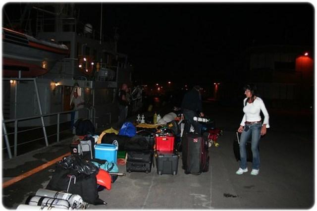 46 Bagage in Zeebrugge
