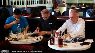 De Jury bestond uit Henry J. Joe (Heaven Hill Europe / Asia), Bernie Lubbers (a.k.a. Whiskey Professor) and Willem Asaert (Recensent en Hoofdredacteur bij Culinaire Ambiance)