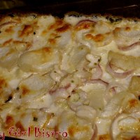 Turnips and Cauliflower Gratin Side Dish