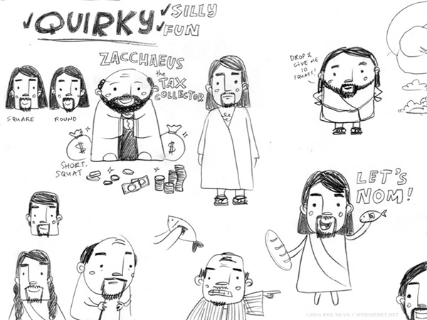 Bible sketches