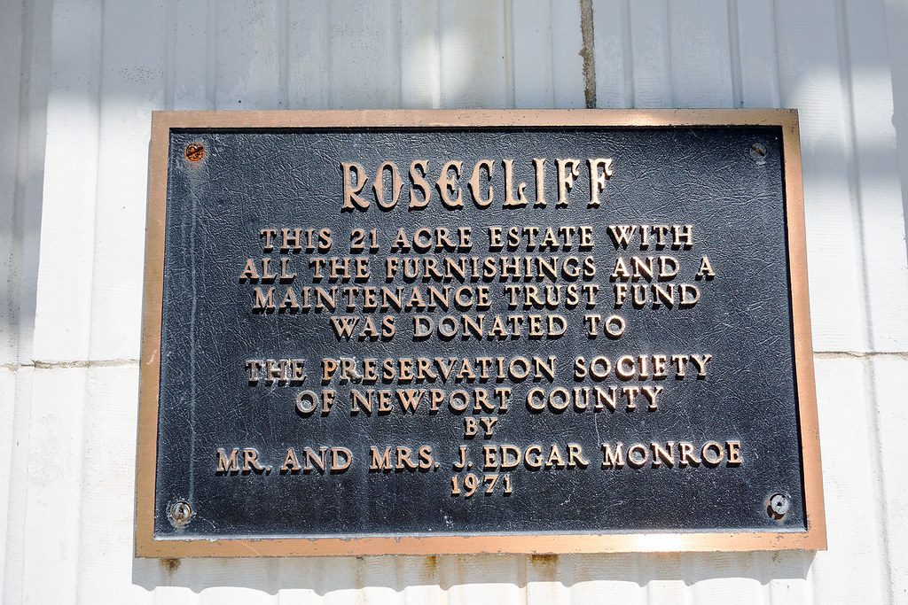 Rosecliff Placard.