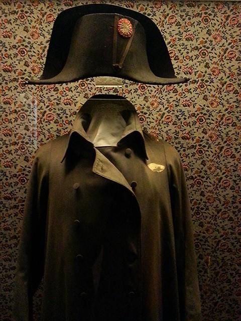 Fontainebleau, napoleon hat and coat