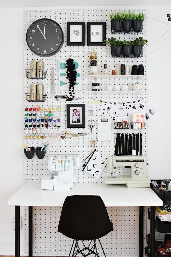 Functional Design Ideas - Pegboard Organization