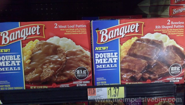 Banquet Double Meat Meals