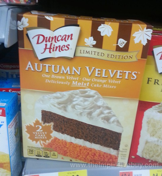 Duncan Hines Limited Edition Autumn Velvets