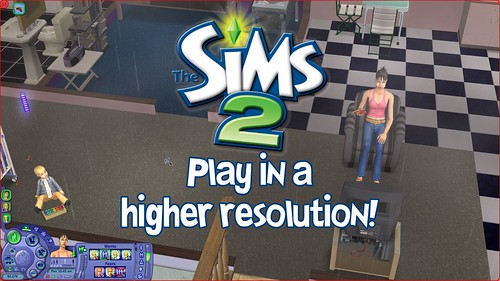 The Sims 2 Ultimate Collection: Increase Resolution Guide (1/6)