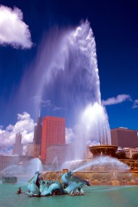 Buckingham Fountain a Chicago