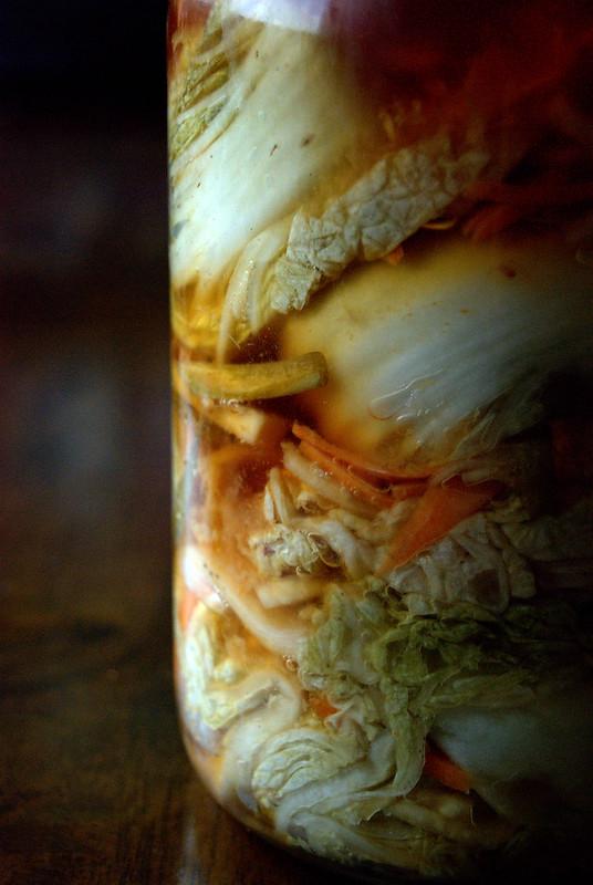 Baek (White) Kimchi