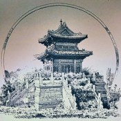 Beijing 1860: Loot, Prize, and a Solemn Act of Retribution THE FINAL ACT oF THESECOND opiuM wAR took place in early and mid- October in and around the Qing capital at Beijing.Temple of Bronze in the ruins of the Old Summer Palace, circa 1860