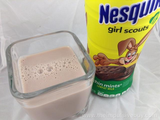 Nestle Nesquik Limited Edition Girl Scouts Thin Mints Milk 2