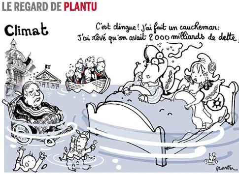 14j02 LMonde Plantu Hollande He soñado que teníamos 2000 millardos de deudas
