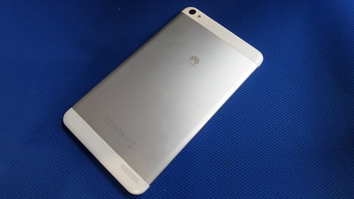 Huawei MediaPad X1 ด้านหลัง