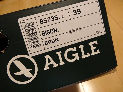 AigleのBISON(メンズ)