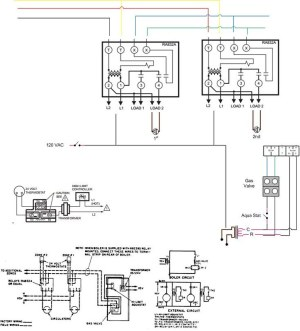 Tekmar 256 w RA832A relays  DoItYourself Community