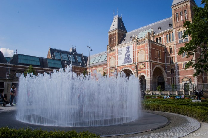 Rijksmuseum Fountain