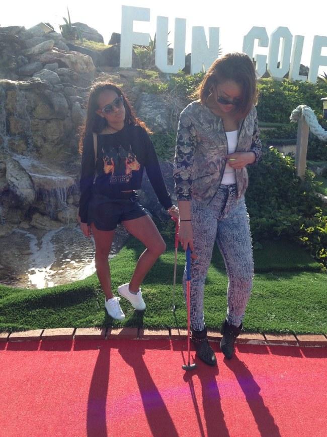 Golfin Around