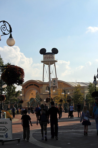 view on the Walt Disney Studios Park