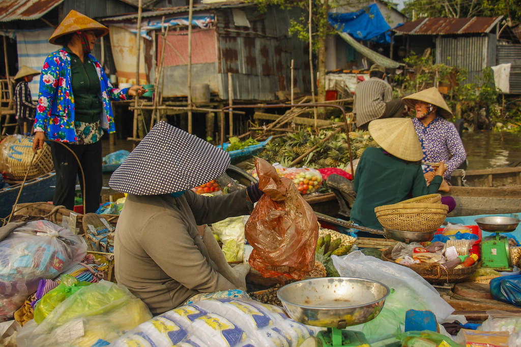 lokale oplevelser i Mekongdeltaet