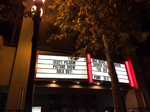 Scott Pilgrim Picture Show Marquee