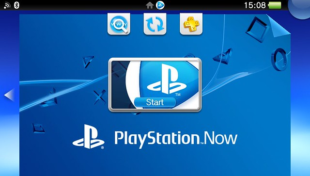 PS Now on PS Vita