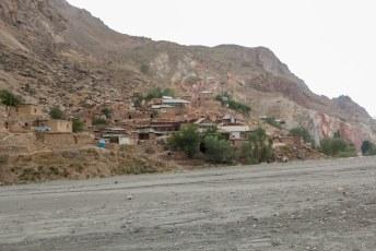 Het laatste dorpje voor we weer terug op de grote weg kwamen.