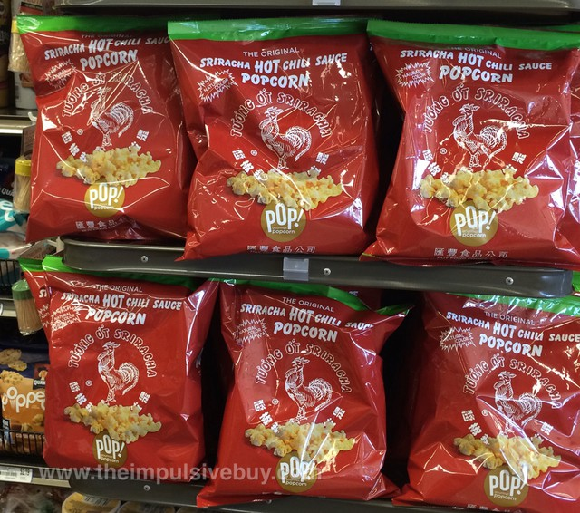 The Original Sriracha Hot Chili Sauce Popcorn