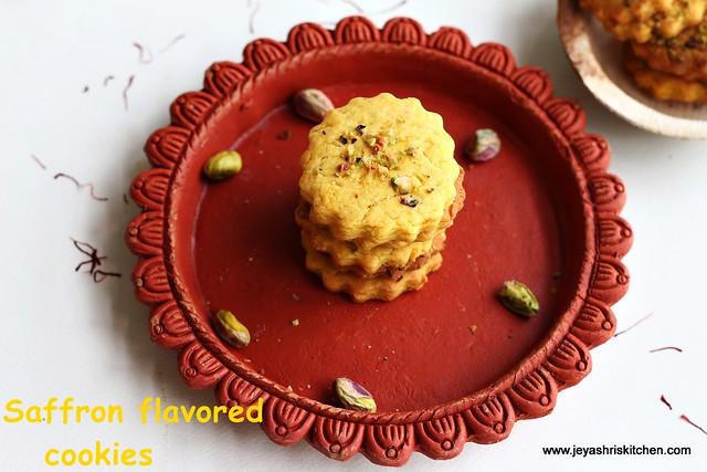 Saffron -cookies