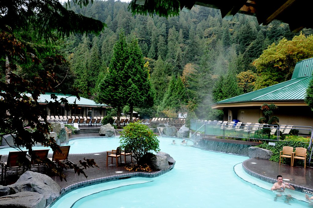 Harrison Hot Springs Resort Copper Room Healing Spa Lakeside Buffet