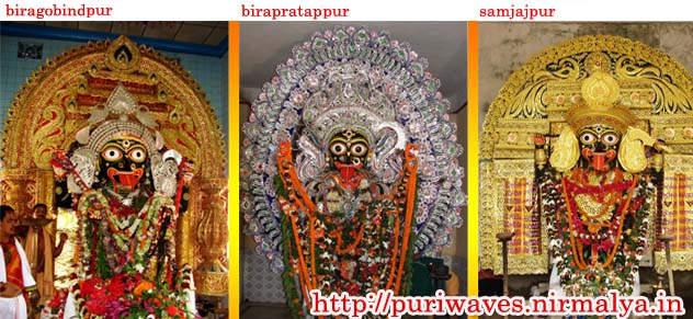 Maa Kali of biragobindpur, birapratappur, samjajpur Puri, Orissa