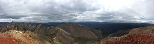Picture from Redcloud & Sunshine Peaks
