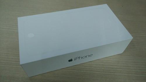 กล่องของ iPhone 6 Plus