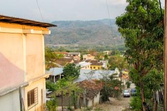 Het dorp stelt verder niet veel voor, het gaat namelijk om......